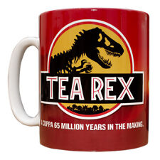 Tea Rex Mug Funny gift idea Jurassic movie novelty cup dinosaur film 185