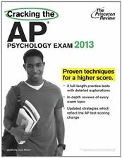 Cracking the AP Psychology Exam, 2013 Edition (College Test Preparation) by Prin