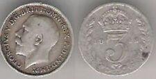 Great Britain - 3 three pence 1912 - King George V Silver England United Kingdom