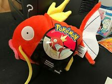 "POKEMON MAGIKARP RARE EXCLUSIVE OFFICIAL TOMY LICENSED LARGE 8"" PLUSH w/ TAGS"