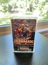 Ghostface Killah Ironman Cassette Tape Wu Tang Clan Raekwon Cappadonna 90s Gold