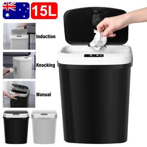 Motion Sensor Rubbish Bin Automatic Kitchen Waste Trash Can Dustbin Electric