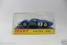 [OR3-21] DINKY TOYS 1425 MATRA 630 - MADE IN FRANCE - MECCANO TRI-ANG - NIB