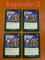 4x Seal of Doom | Nemesis | MTG Magic Cards