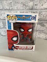 Marvel Spiderman Homecoming Spider-Man #220 Funko Pop Vinyl - Mint UK