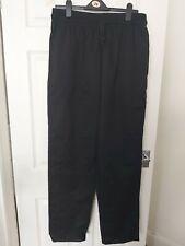 Black Trouses Kitchen Uniform XL