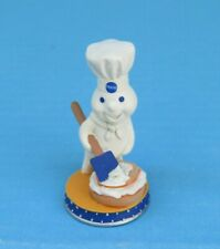 New Pillsbury Doughboy Danbury Mint Enticing Icing Miniature Porcelain Figurine
