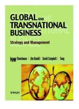 Global and Transnational Business: Strategy and Management-George Stonehouse, J