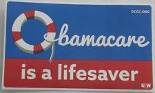 OFFICIAL  DCCC  OBAMACARE IS A LIFESAVER  2017  Bumper Sticker