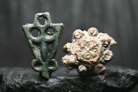 Décorations antiques rares, bijoux Viking, 6-11 siècle après JC.