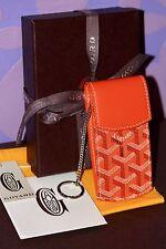GOYARD 2017 PORTE CLES Key Chain Holder Wallet Belt Pouch Small Monogram SESAME