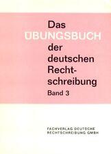 Übungsbuch der deutschen Rechtschreibung - Vokale & Konsonanten, Deutsch Übungen