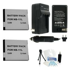Ultrapro NB-11L 2-Pack Replacement Battery and Charger Bundle for Canon Cameras