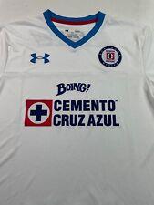 Deportivo Cruzazul Mexico Soccer Jersey Under Armour Futbol Football Mens Large