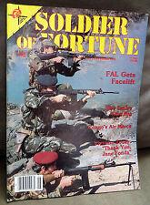 Soldier of Fortune Magazine- June 1982, Rare, Antique Back Issue