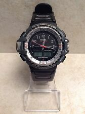 VINTAGE CASIO PROTREK PRT-70 (2307) TWIN SENSOR ANALOG & DIGITAL DISPLAY WATCH