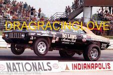 """Bo Laws"" 1969 Chevy Camaro Pro Stocker ""Wheels UP"" at Indy PHOTO!"