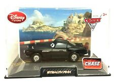 Disney Store Pixar Cars 2 CHASE Stealth Finn McMissle Die Cast Car Hard Case NEW