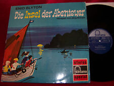 Die Insel der Abenteuer   Enid Blyton             Fontana  LP
