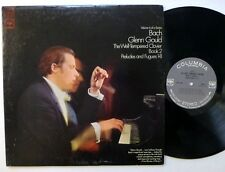 GLENN GOULD Bach Well Tempered Clavier LP Classical Piano   Cla244