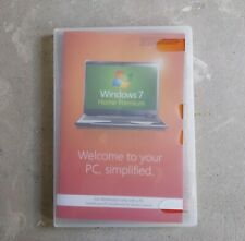 Windows 7 Home Premium 64 bit Disc and Key