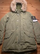 Original Stone Island Micro Reps Down Parks Military Green Gr. L Top!