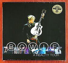 DAVID BOWIE - A REALITY TOUR 180g Blue Vinyle 3LP Box Set Limitée USA Scellé