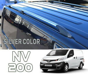 Nissan NV200 Roof Rails or Cross Bars Plus Series Silver Color SHRT