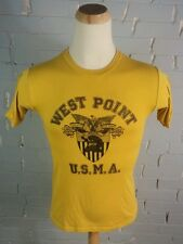 Vintage West Point Usma Military Army Paper Thin T-Shirt M 80's