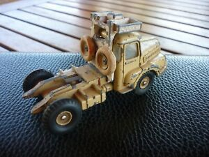 DINKY TOYS 39B. Tracteur UNIC. SAHARA. Années 60. Made in France. 1/43. MECCANO.