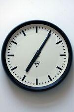 "37cm 14,6"" vintage industrial 70s factory/school/railway wall clock"