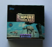 Star Wars Widevision Wax Box Topps The Empire Strikes Back  ESB 1995