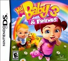 MY BABY 3 & FRIENDS DS GAME NEW
