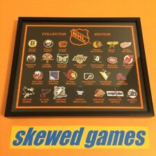NHL Logo Pins Collector Edition - 26 Logos Team Teams Framed Collectors Set