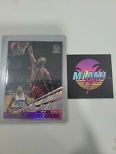 1993-94 Stadium Club Beam Team #4 Michael Jordan Bulls Insert rare 1994