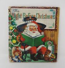Whitman Tell-a-Tale NIGHT BEFORE CHRISTMAS Zilla Lesko Illustrations
