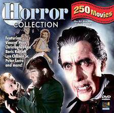 Horror Collection 250 Movie Box Set DVD Rare OOP Cult Gore Classic