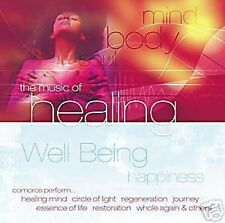 THE MUSIC OF  HEALING WELL BEING HAPPINESS ( C.D )