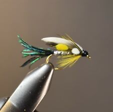 2 Flies, Size 12, Dr. Burke Wet Fly Fishing