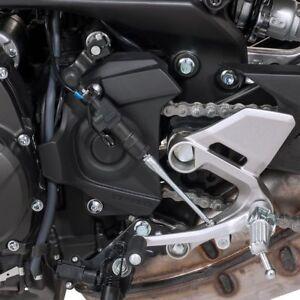 rzmmotor 1/par 8/mm Nueva motocicleta negro repuesto rearsets reposapi/és Pedal Fusion male-mount Estribera y cambio por CNC aluminio