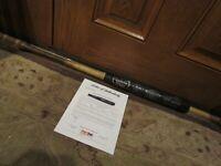 2009 Johan Santana Louisville Slugger F123 Game Used Baseball Bat PSA