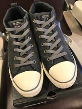Converse All Star Charcoal Mid-Top Size 10
