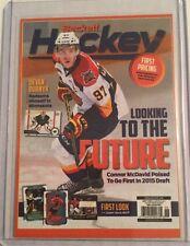 2015 Beckett Reproduction Connor McDavid Card Otters Edmonton Oilers #/2000