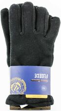 Club Room Black Men's Super Winter Soft Fleece Gloves Authentic Medium