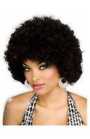 Women Funky Black Afro Disco Halloween Wig
