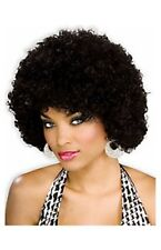 Women Funky Black Afro Disco Halloween Wig