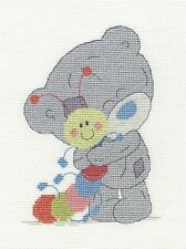 "DMC Tatty Teddy Cross Stitch Kit ""My Friend Mr Caterpillar"""