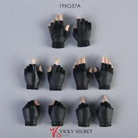 VSTOYS 19XG57A 1:6 Female Pale Skin Black Half Glove Hands Toy F 12'' PH JO Doll