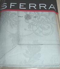 Sferra DENINA Standard Sham ICE Floral Egyptian Cotton Sateen Jacquard New