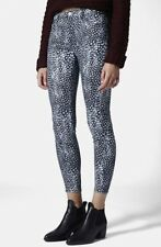 Topshop Leigh Jeans Feather Print W26 L32 Size 8